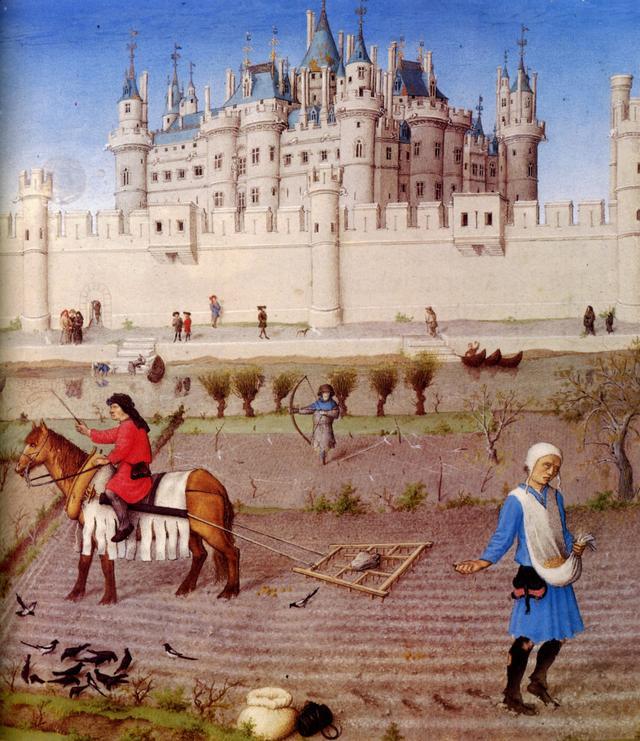 还原中世纪的欧洲,一个因不洗澡而被寄生虫折磨的年代